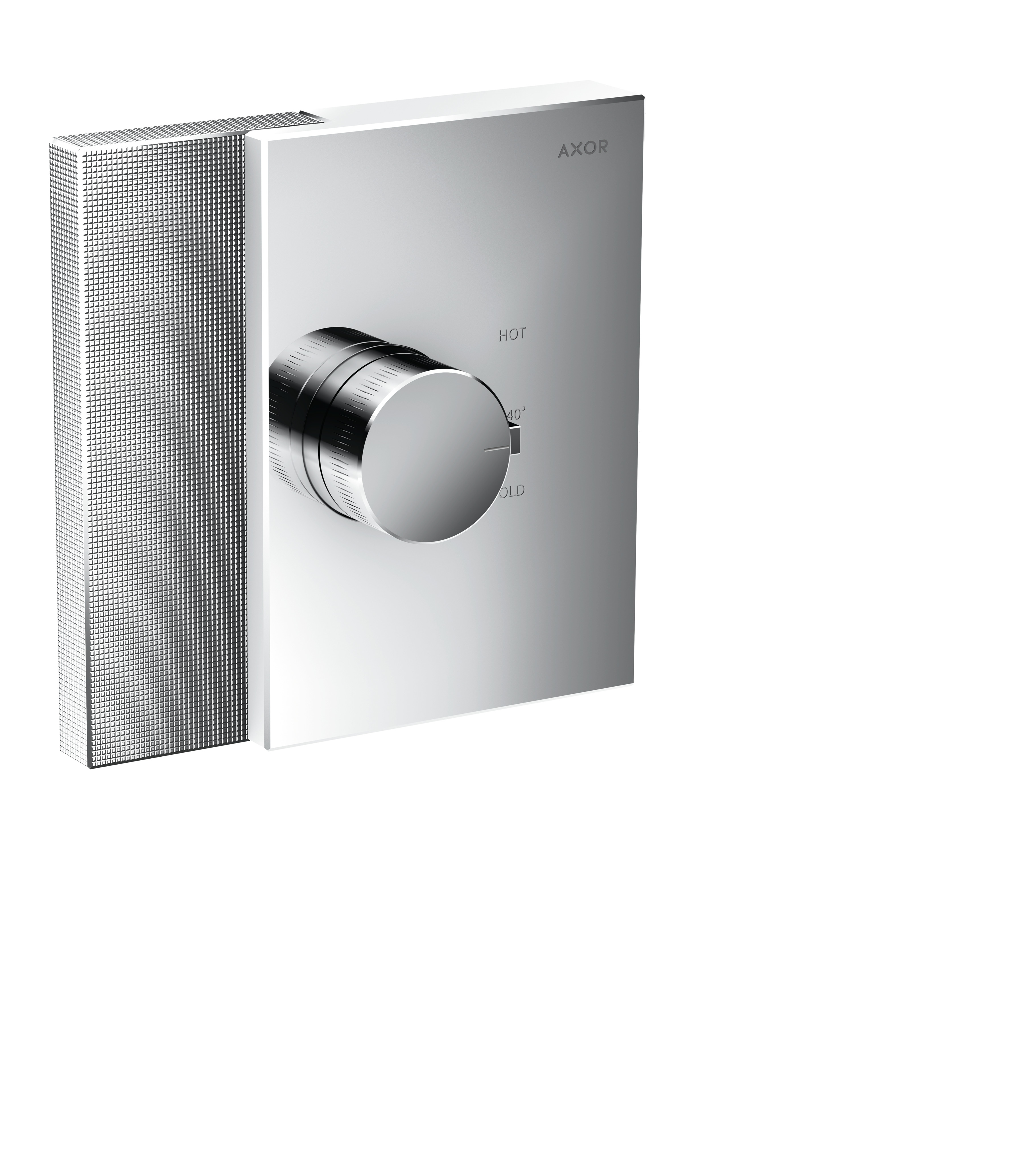 hansgrohe AXOR Edge 46741000 und 46740000 Thermostat HighFlow Unterputz