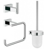 GROHE 40757001 Essentials Cube WC-Set 3 in 1