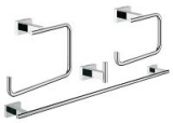 GROHE 40778001 Essentials Cube WC- Bad-Set 4 in 1